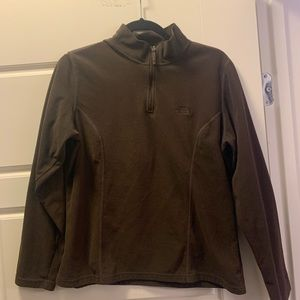 Women's large brown The North Face fleece